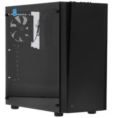 Корпус Thermaltake Versa J21 Tempered Glass Edition черный